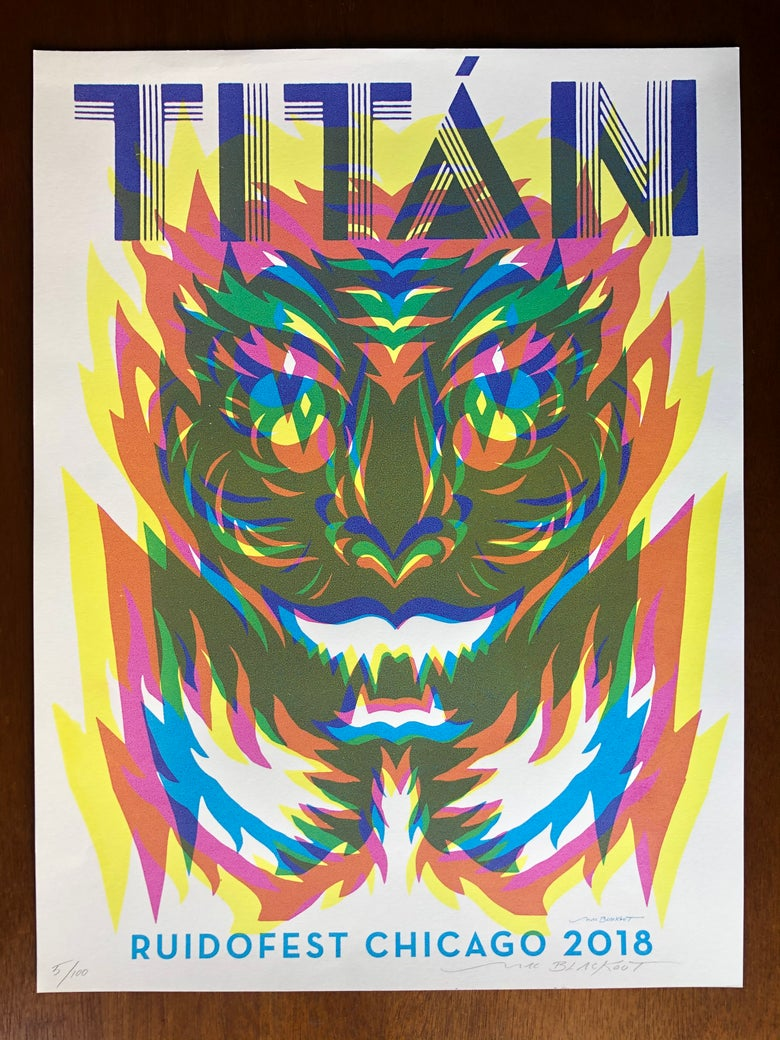 Image of TITÁN x Mac Blackout