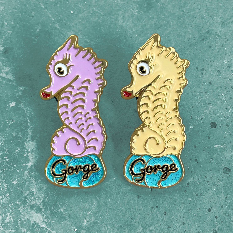 Image of Glitter Pin - Gorge Shehorse