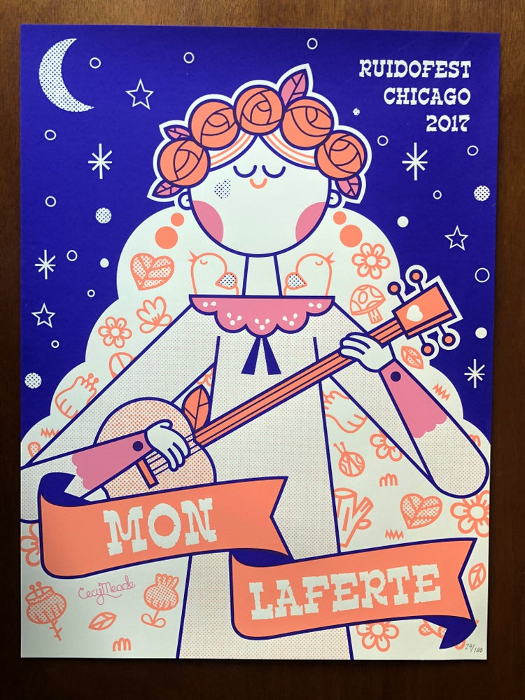 Image of MON LAFERTE  x  Cecy Meade