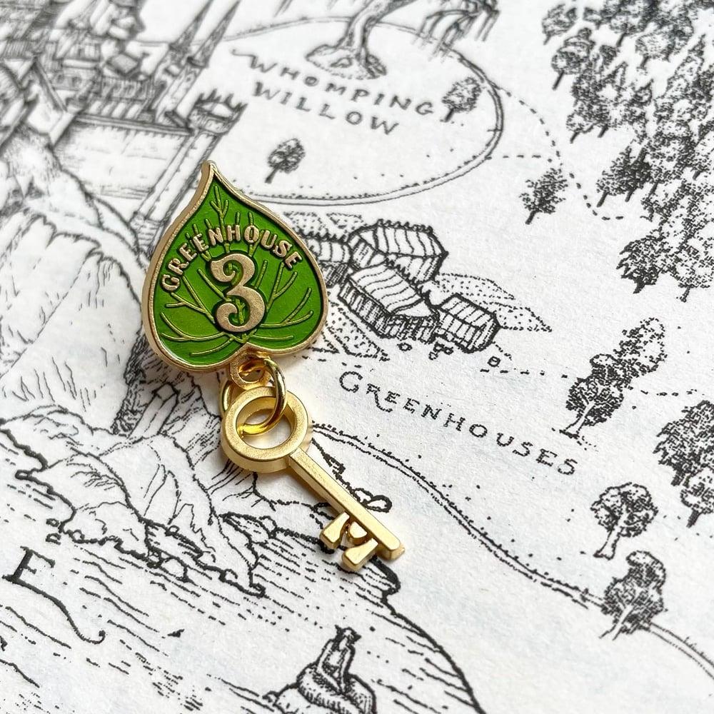 Image of Greenhouse Key Pin