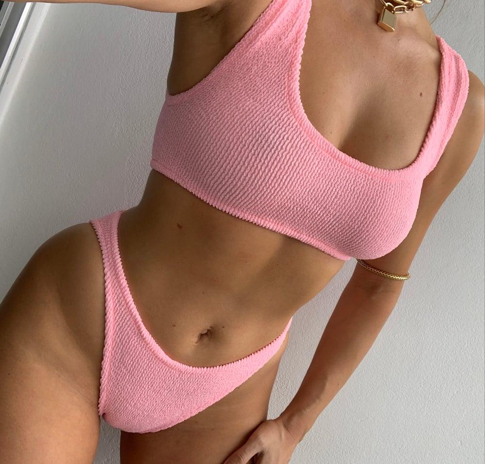 Image of Bubblegum Mini Crop Bikini