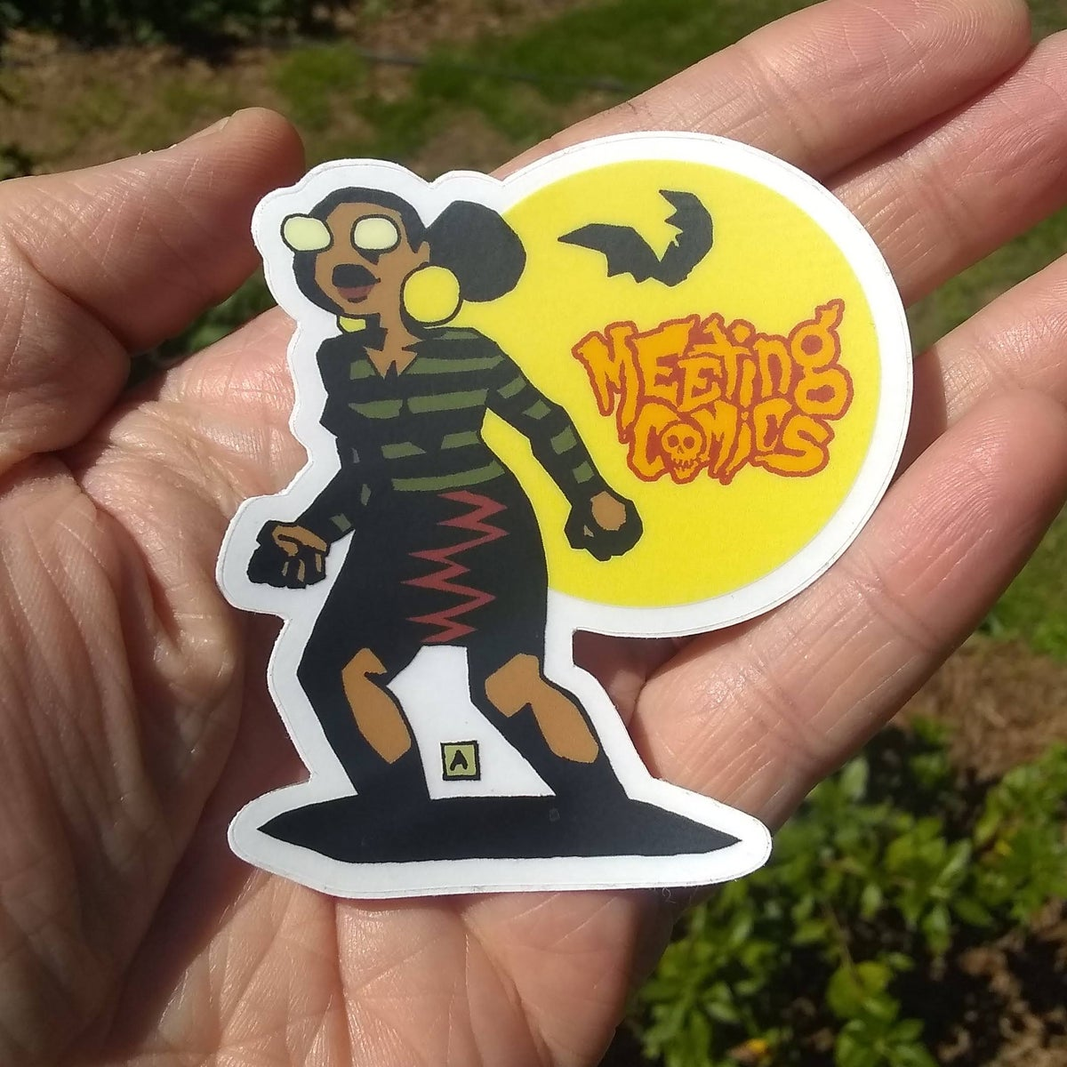 Image of Meeting Comics HellVal sticker