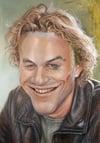 Heath Ledger –Mounted Canvas