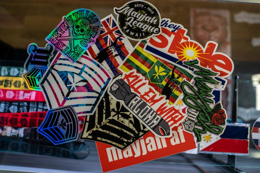 Image of Mayjah Slaps (stickers)