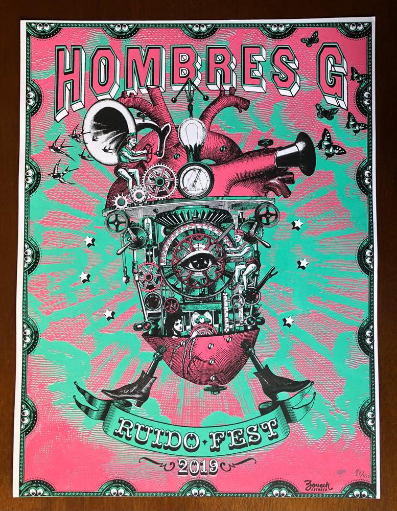 Image of HOMBRES G  x  Zovek Estudio