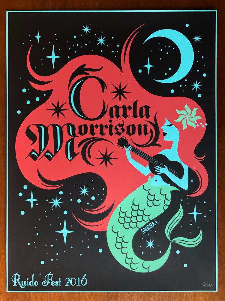 Image of CARLA  MORRISON  x  Sandra Equihua