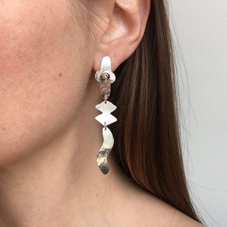 Image of fend earring