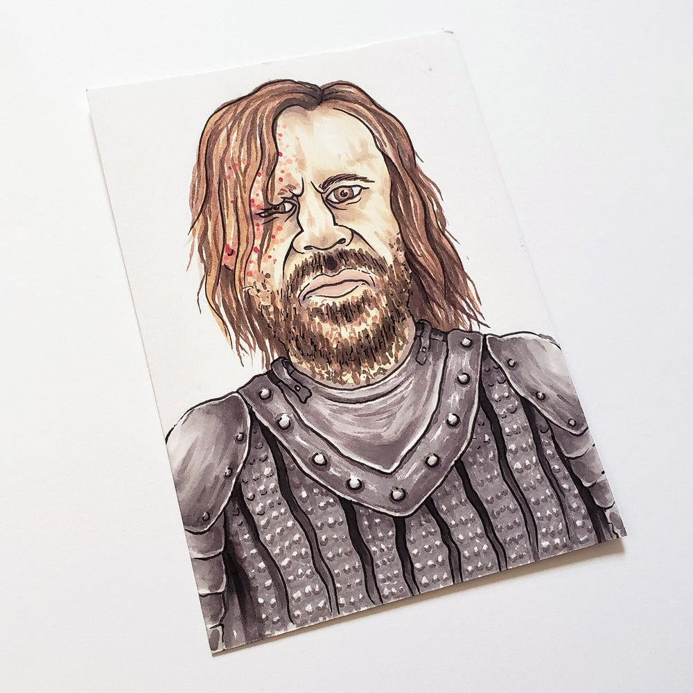 Image of The Hound Drawing