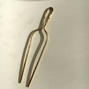 Image of classic stamped hair pin