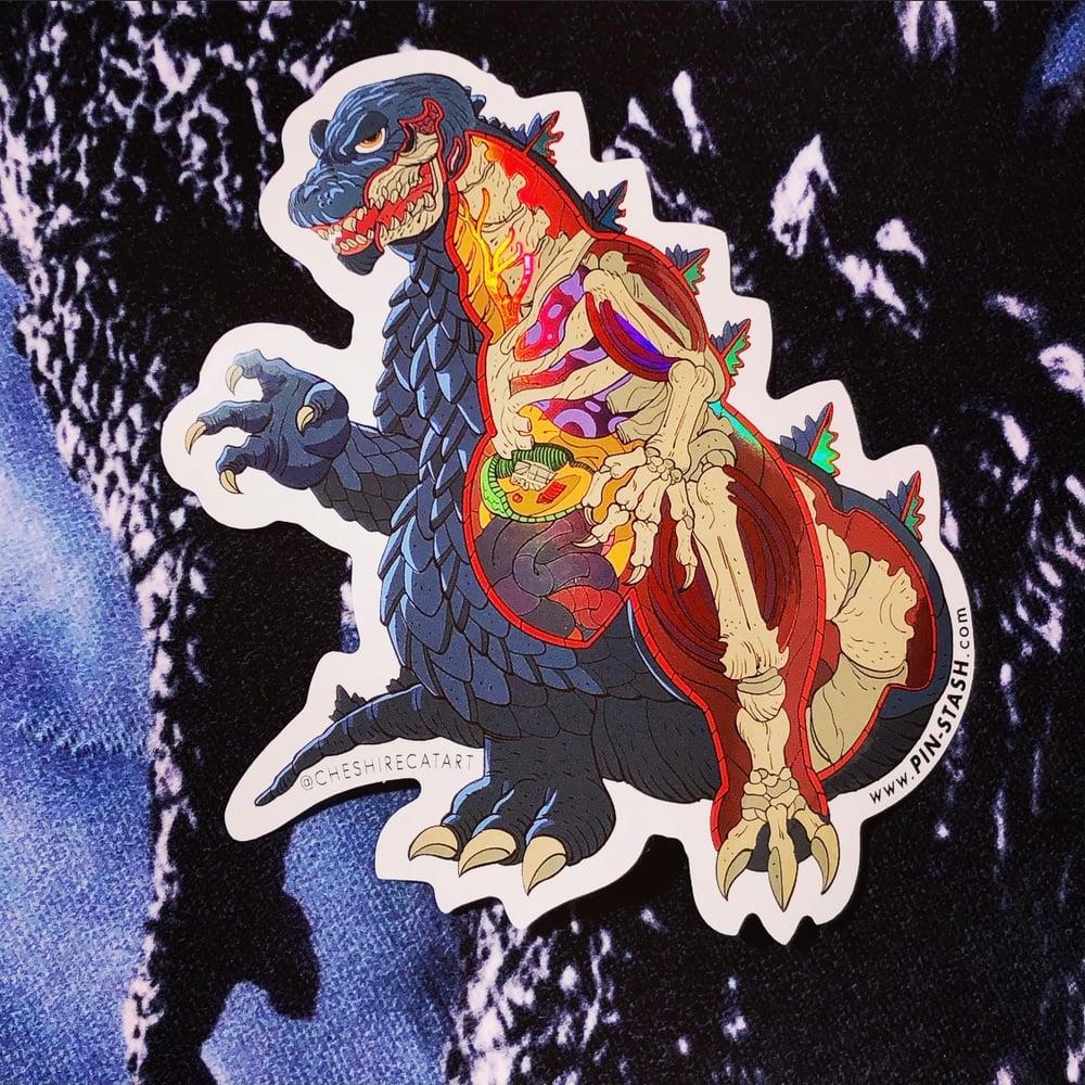 Image of Jumbo Zilla 7-INCH Sticker Slap