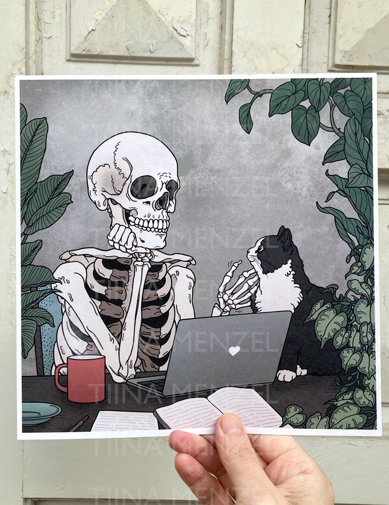 Image of Home office print