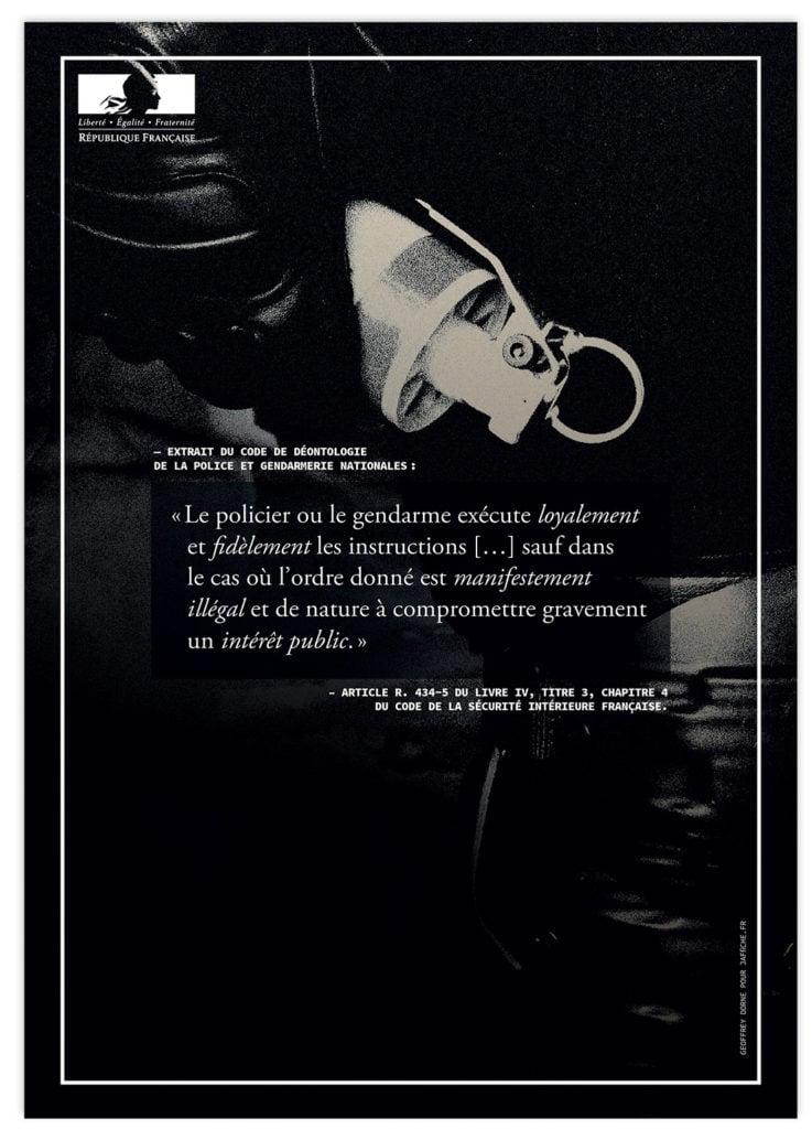 Image of Affiche : «Le code de déontologie de la Police — 1»