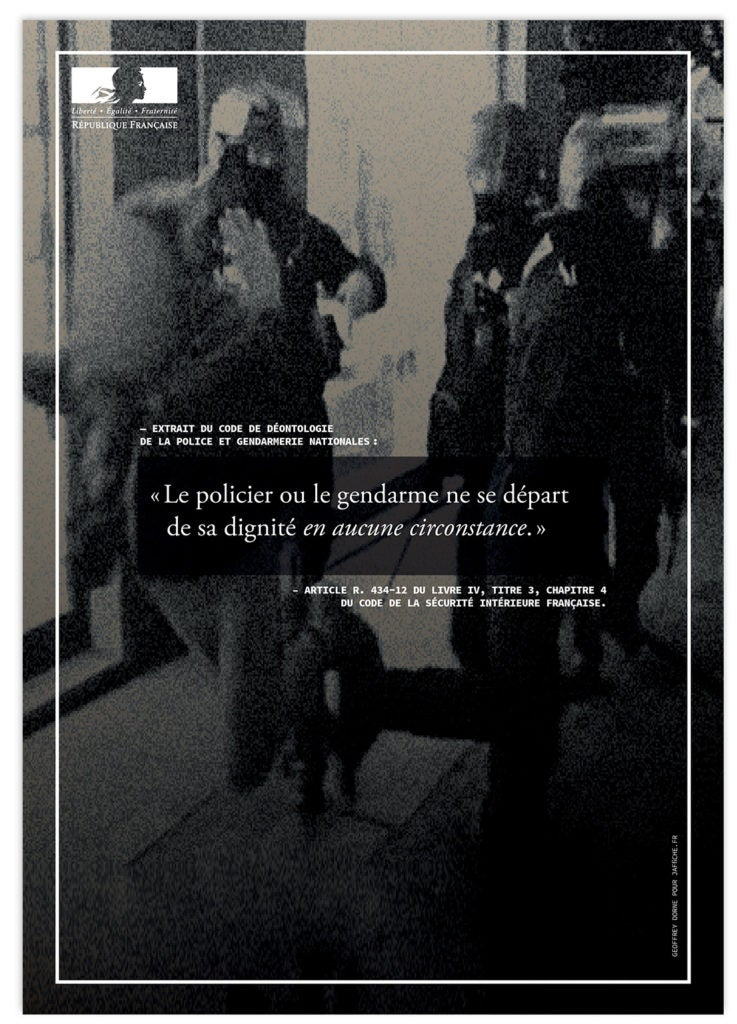 Image of Affiche : «Le code de déontologie de la Police — 2»