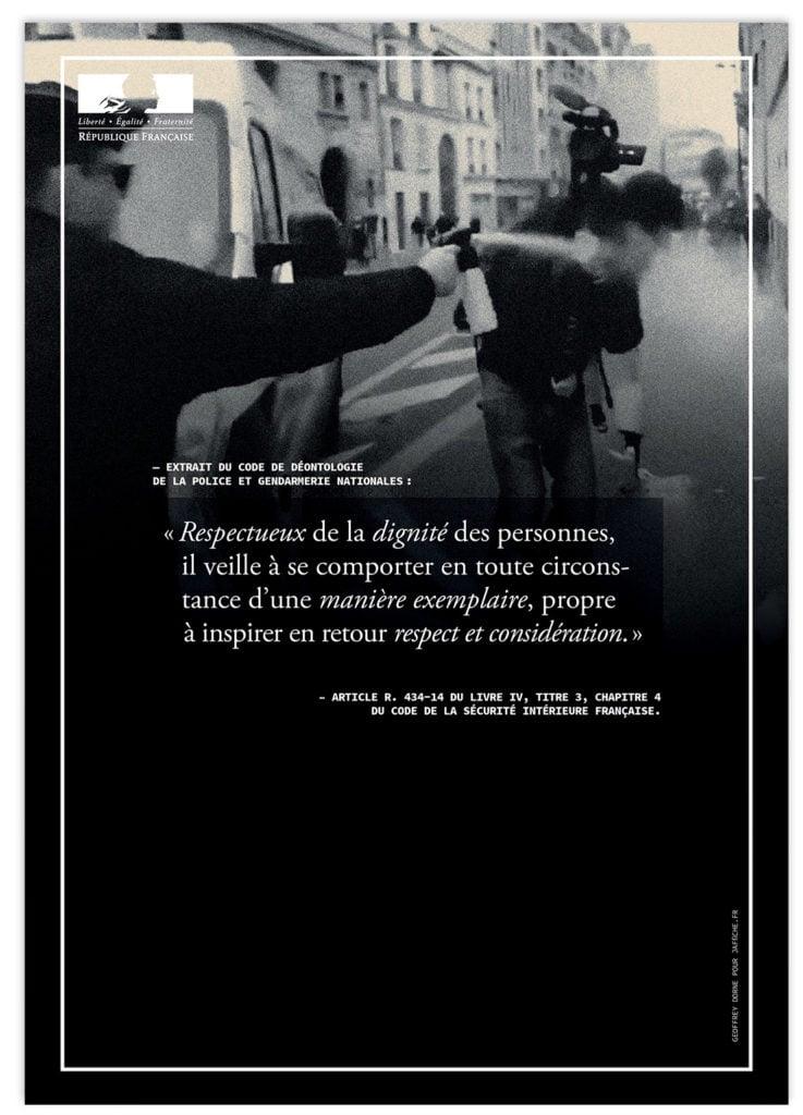 Image of Affiche : «Le code de déontologie de la Police — 4»