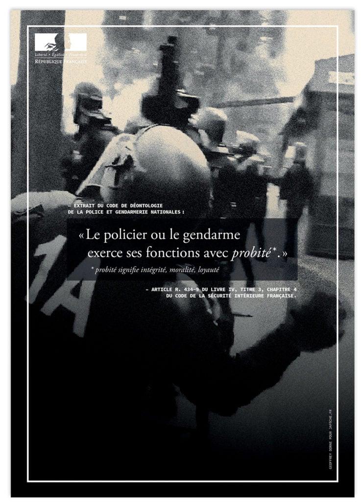 Image of Affiche : «Le code de déontologie de la Police — 5»