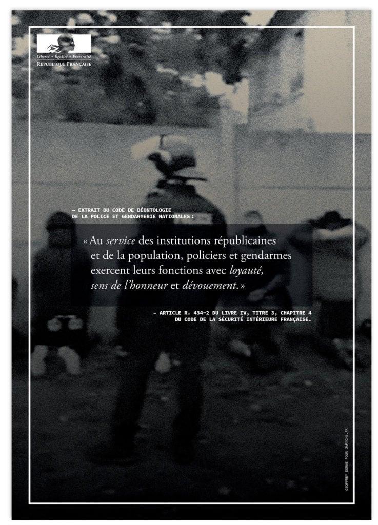 Image of Affiche : «Le code de déontologie de la Police — 6»