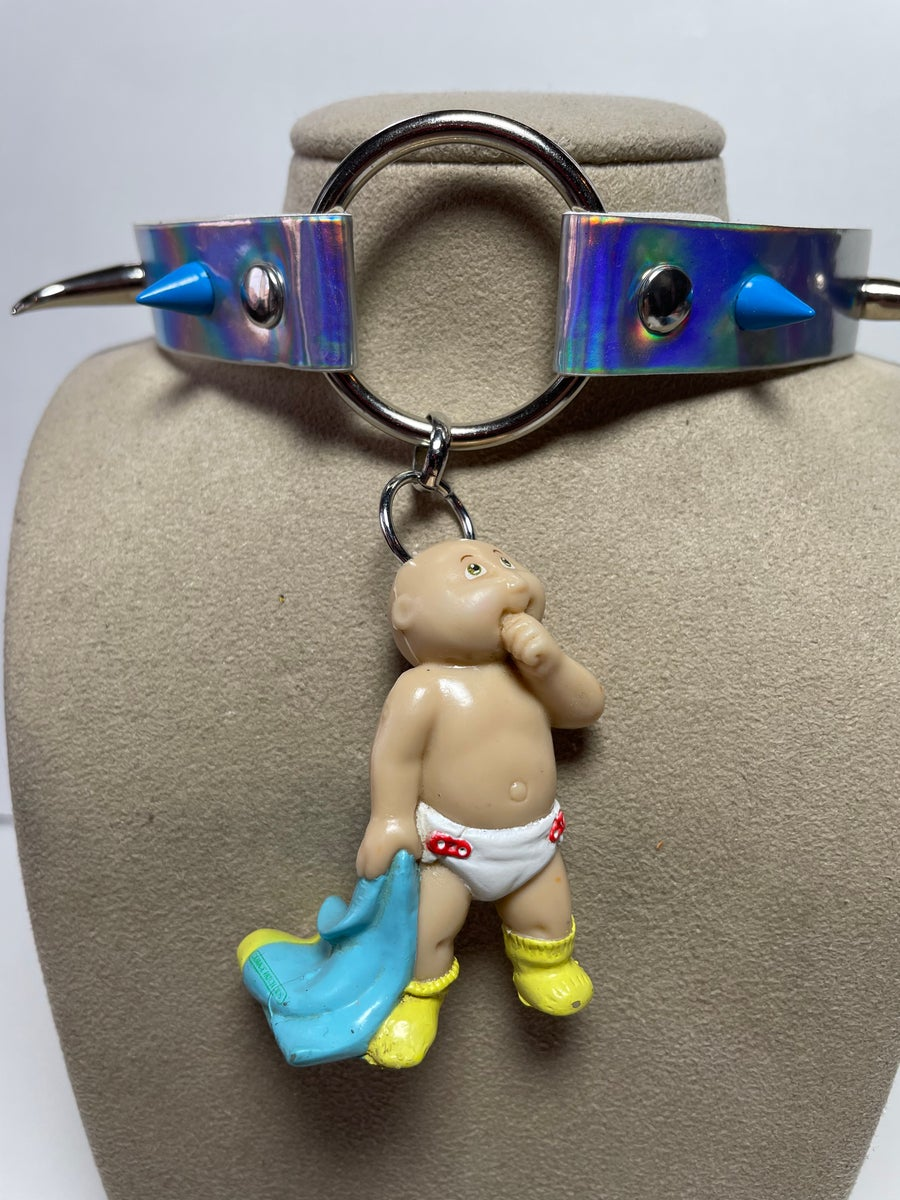 Image of Cabbage Patch Kid Baby Spiked Choker