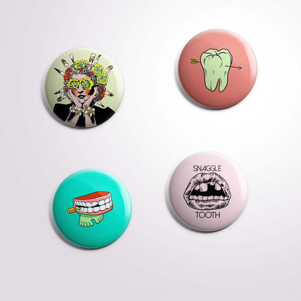 Snaggle Sticker/Button Pack