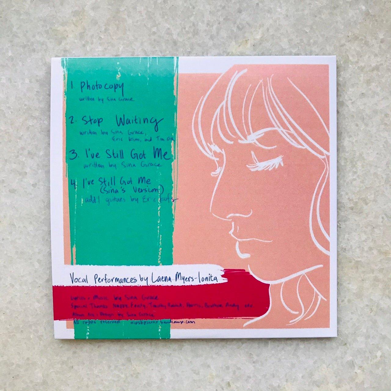 """Image of NIPSLIP """"Lauren's demos"""" EP"""