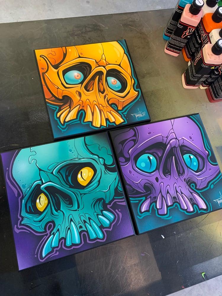 Image of 10x10 Skulls