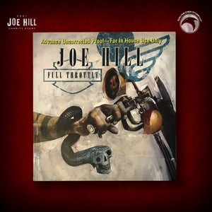 Image of JOE HILL 2021 CHARITY EVENT 86: SIGNED Full Throttle, Subterranean Press, Advance Uncorrected Proof!