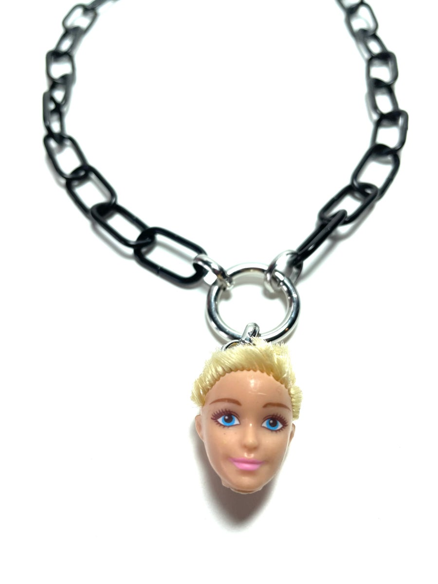 Image of Doll Head O-Ring Necklace