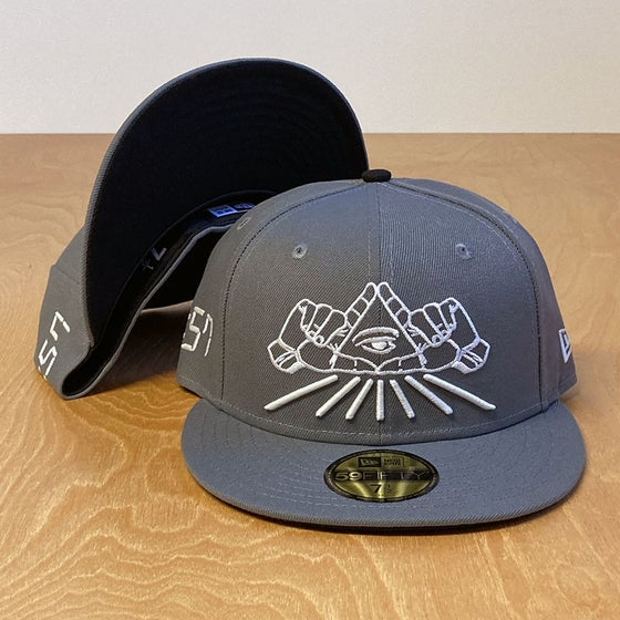 Image of The All Seeing Eye Fitted 59Fifty