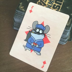 Dust Bunny Mafia Playing Cards
