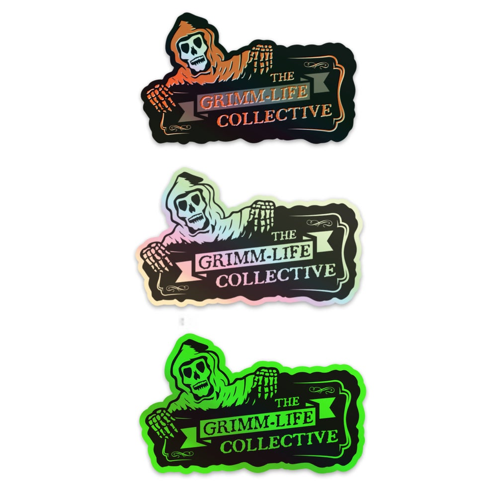 Image of 3 Holographic Sticker Pack