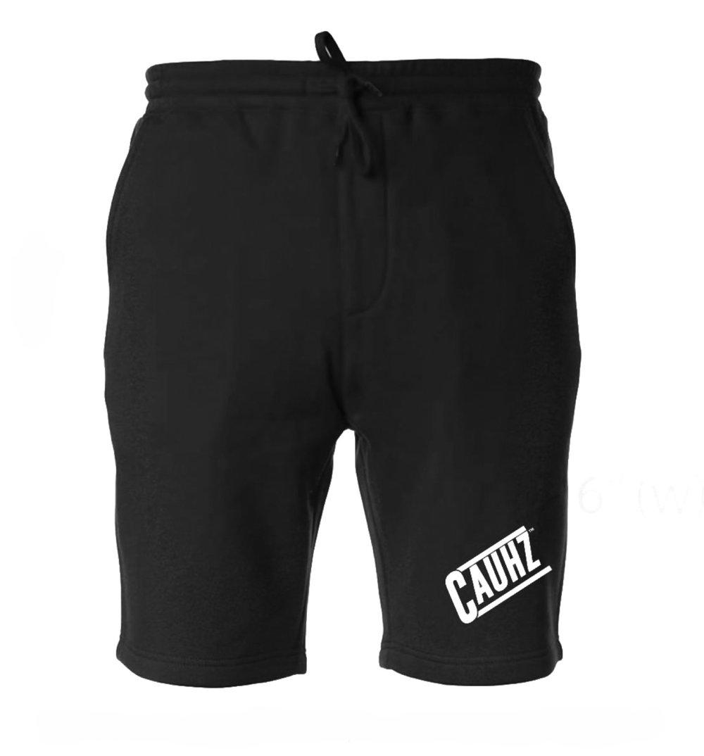 Cauhz™️ Black Sweat Shorts