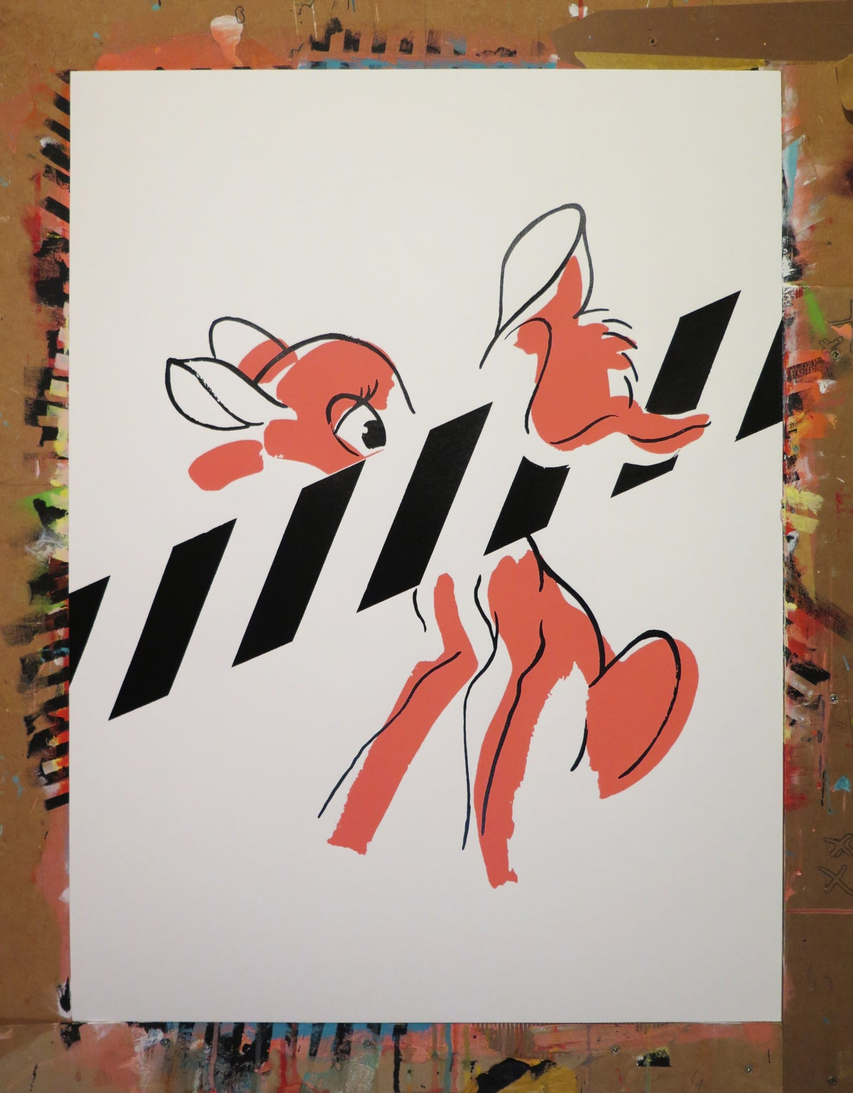 Image of Felina and Bambi