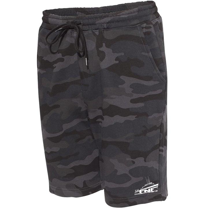 Image of Seabound Functional Shorts (black camo)