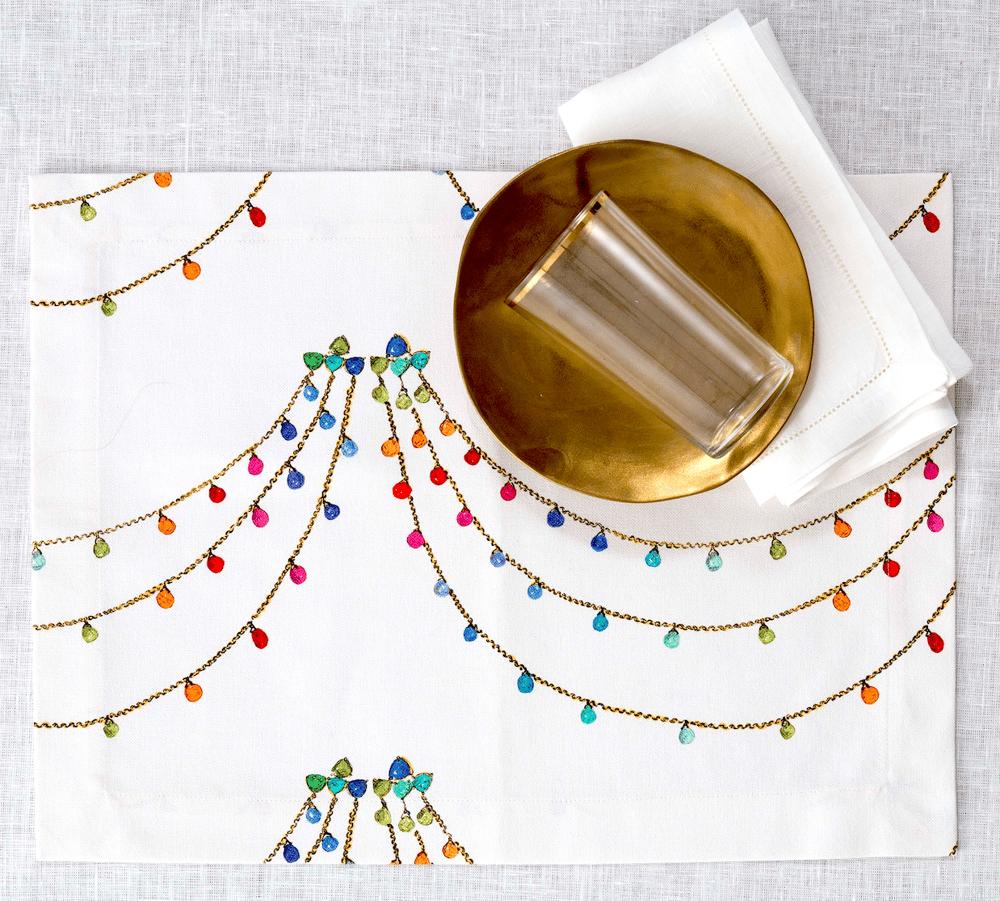 Image of Tovaglietta americana The Jewel - The Jewel placemat