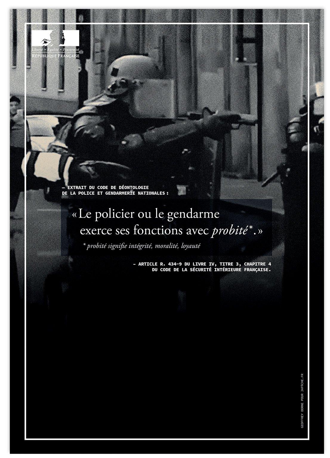 Image of Affiche : «Le code de déontologie de la Police — 7»