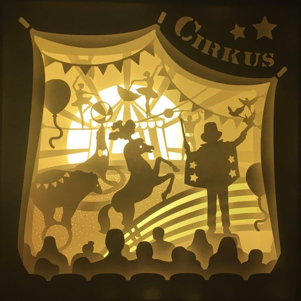 Image of Circus Night Light_Gul