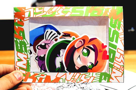 Image of Kim Possible Emote Vinyl Sticker Pack