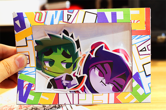 Image of Teen Titans Emote Vinyl Sticker Pack
