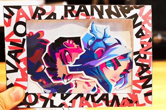 Image of Valorant Vinyl Sticker Pack 02