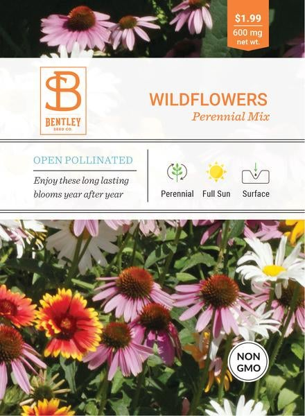 SEEDS - WILDFLOWERS: PERENNIAL MIXED