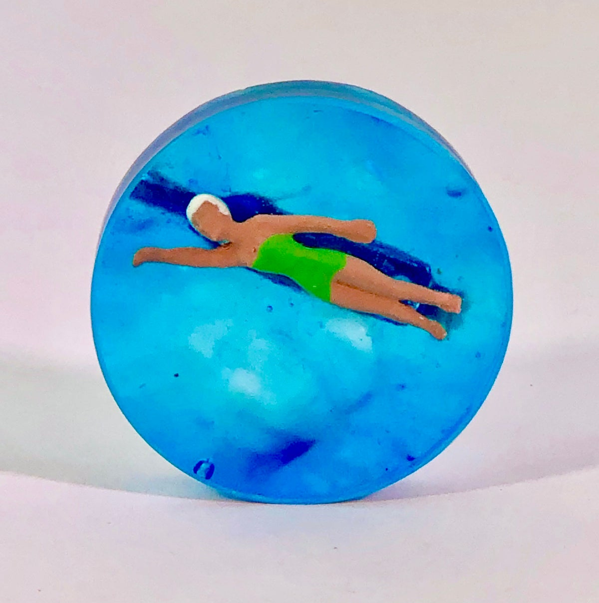 Image of Swimmer in resin