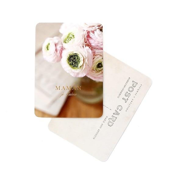 Image of Carte Postale MAMAN je t'aime / DORÉ / ELENA