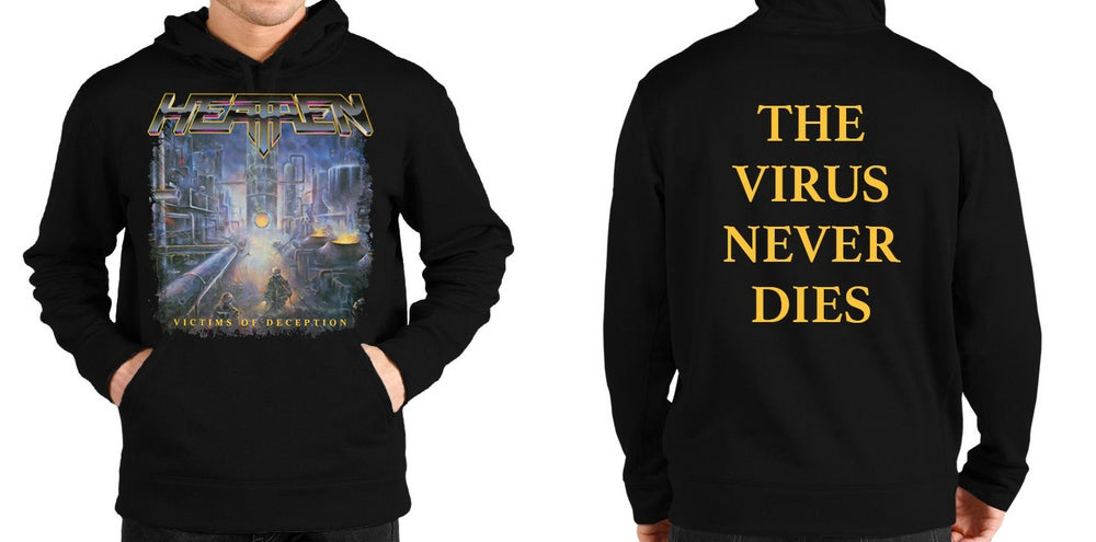 Image of Victims Of Deception Pullover Hoodie