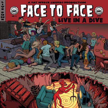 Image of Face to Face - Live in a Dive LP