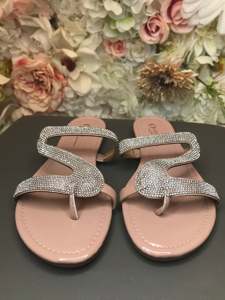 Image of So Icy Sandal nude