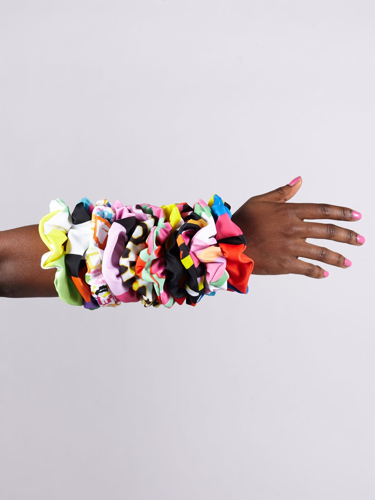 Image of Printed Hair Scrunchies