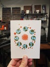 Rings Around the Sun greeting card - 2nd Edition