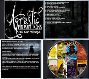 "Image of ""Two And Through"" Compilation CD"