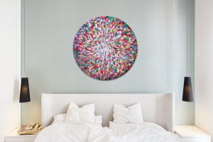 Image of Pacific bloom VII - 90x90cm