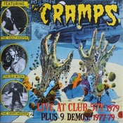 Image of DLP. The Cramps : Live At Club 57 + 9 Demos.