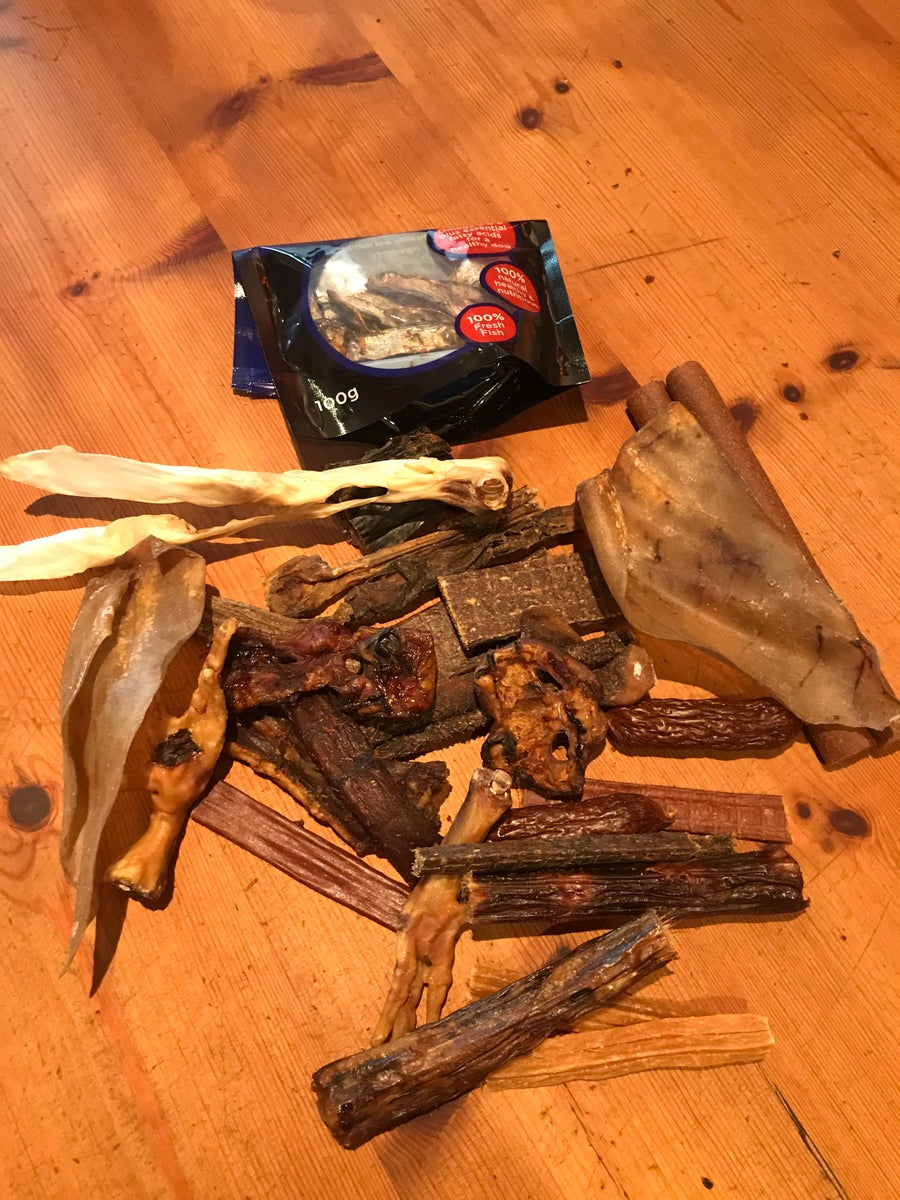Image of Mixed Dried Treat Chew Bag